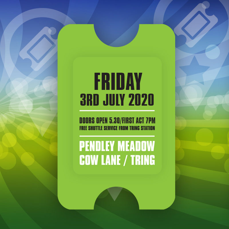 Totally Tribute - Friday 3rd July 2020