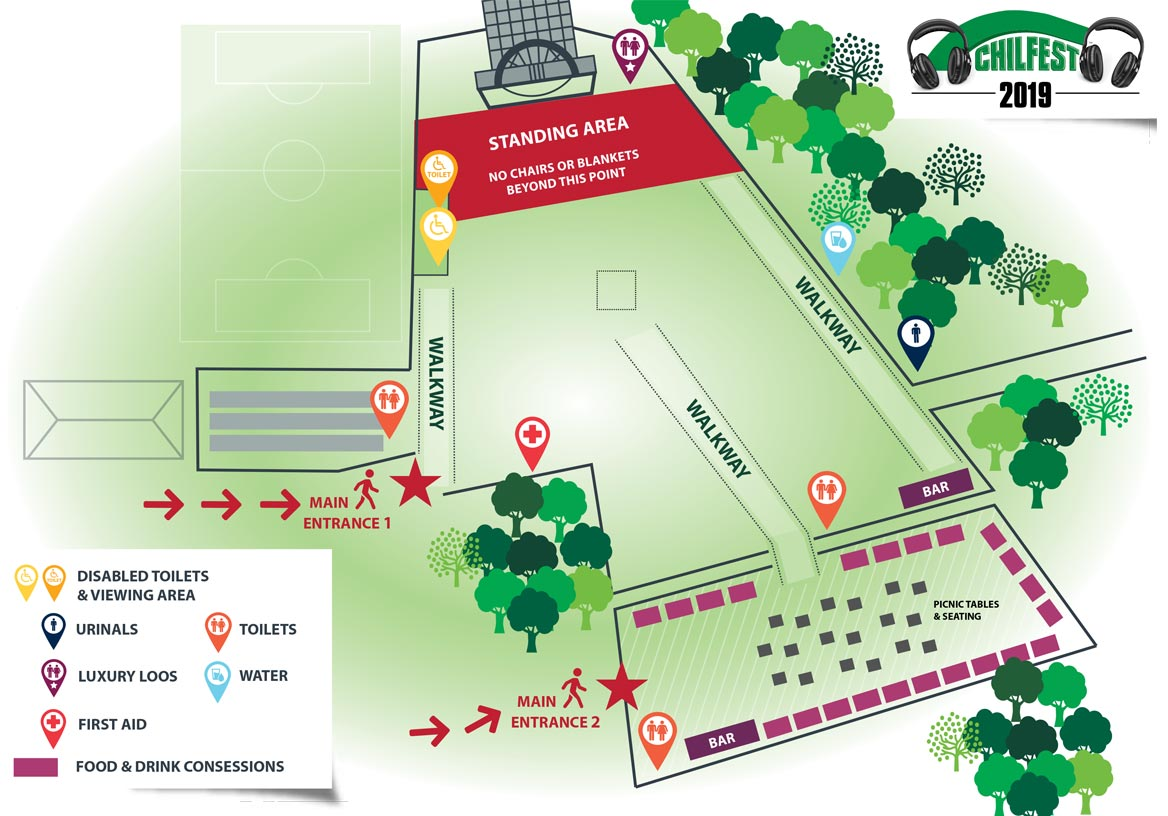 chilfest event site map